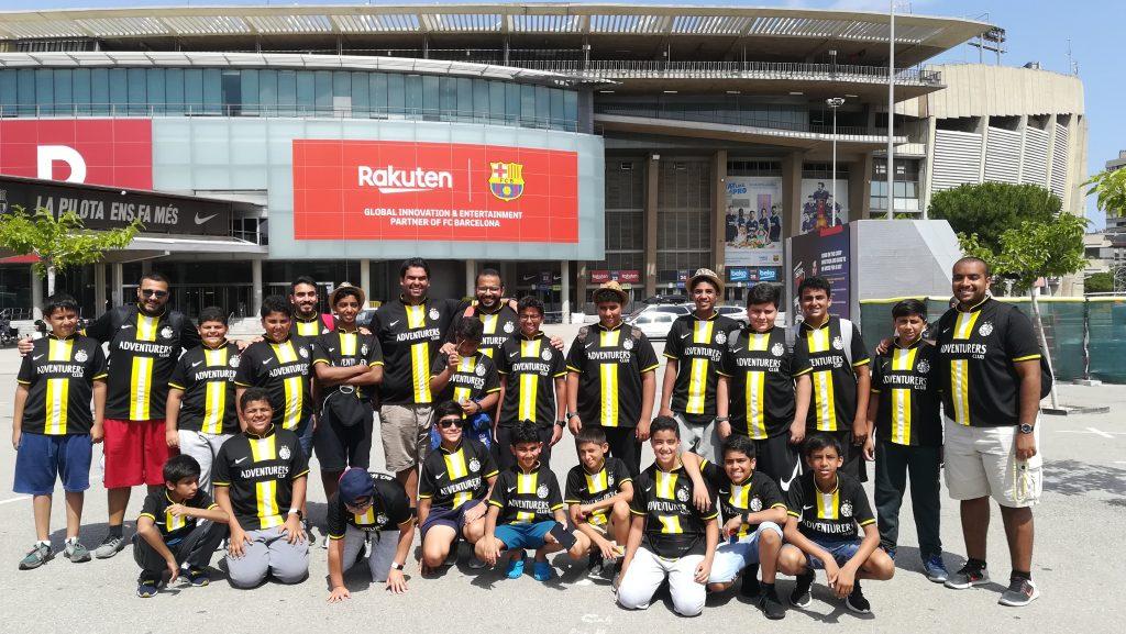turismo deportivo equipo