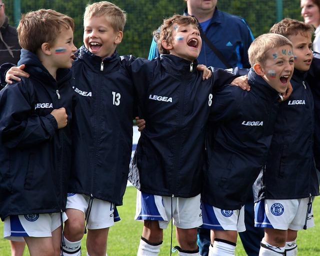 equipo de futbol en un torneo